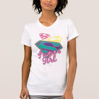 T-shirt Cursive de Supergirl