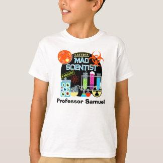 T-shirt customisé par scientifique fou