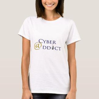 T-shirt cyber addict