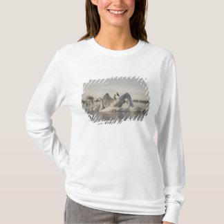 T-shirt Cygnes de trompettiste en rivière de Madison en