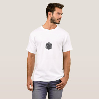 T-shirt D20 minimaliste (hommes)