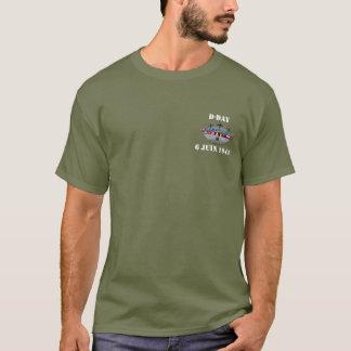 T-shirt D-Day 6 juin 1944 Vert
