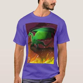 T-shirt D est pour le dragon