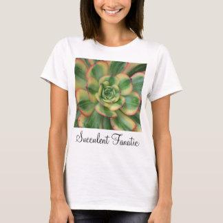 T-shirt d'Aeonium de rayon de soleil
