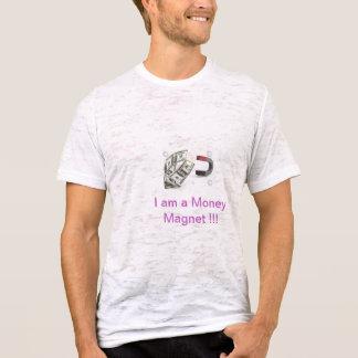 T-shirt d'aimant d'argent