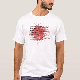 T-shirt Daiquiri de fraise - recette de cocktail