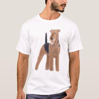 T-shirt d'Airedale Terrier