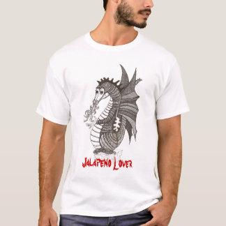 T-shirt d'amant de Jalapeno