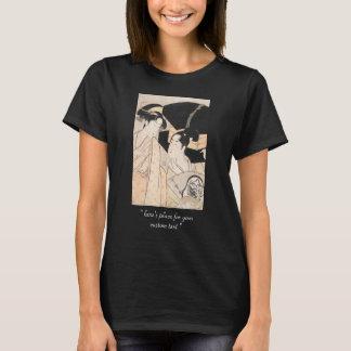 T-shirt Dames de Japonais de Kitagawa Utamaro de vendeur