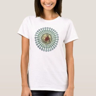 T-shirt Dames de mandala de Randy Castillo adaptées