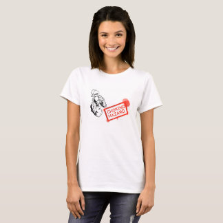T-shirt Dames de risque d'obstruction
