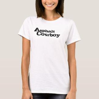 """T-shirt Dames du cowboy les """"C.A."""" d'asphalte ont adapté"""