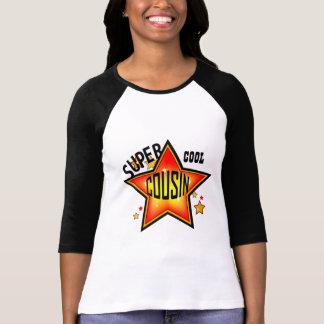 T-shirt Dames fraîches superbes d'étoile de cousin