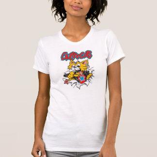 T-shirt Dames Guttercat