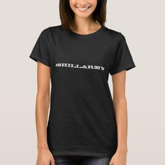 T-shirt Dames #shillarmy