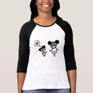 T-shirt d'amour de Minnie Mickey