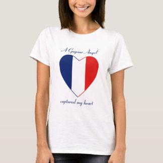 T-shirt d'amoureux de drapeau de Guyane