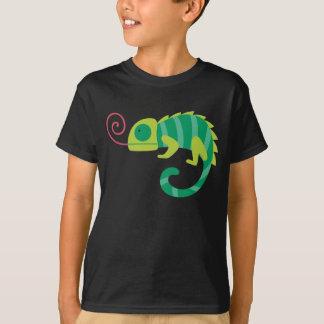 T-shirt d'amusement de caméléon