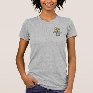 T-shirt d'ange d'épaule