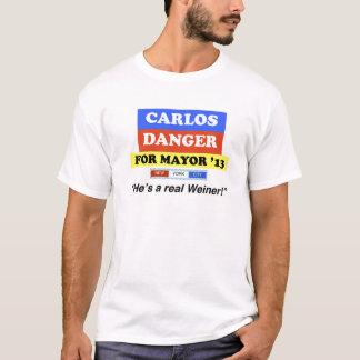 """T-shirt Danger de Carlos pour le maire '13"""" il un vrai"""