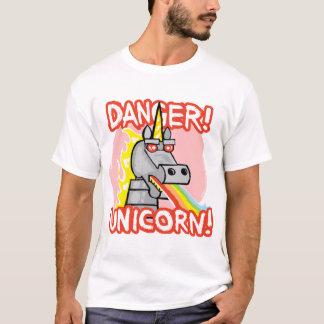 T-shirt Danger ! Licorne !