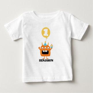 T-shirt d'anniversaire de ballon de petit gâteau