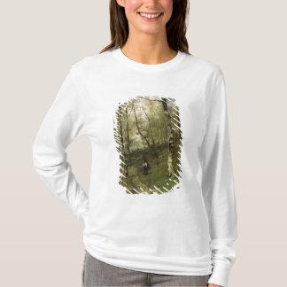 T-shirt Dans les bois de Barbizon en 1875