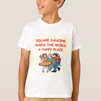 T-shirt danse carrée