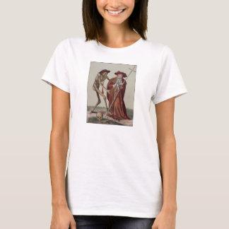 T-shirt Danse de la mort à Bâle   le cardinal