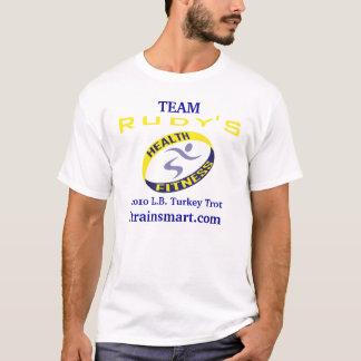 T-shirt Danse du Turkey Trot 2010 de Rudy d'équipe