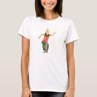 T-shirt danseur féminin de Bali