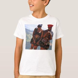 T-shirt danseurs de zoulou