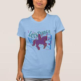 T-shirt Dansons la chemise de dressage de dames