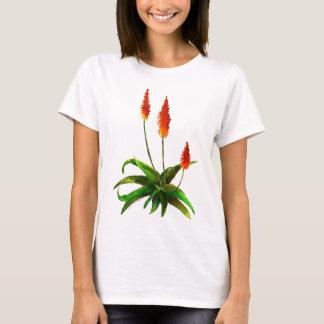 T-shirt d'aquarelle d'aloès