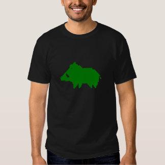 T-shirt Dark - Everzwijn een HITTE VAN TEVOREN