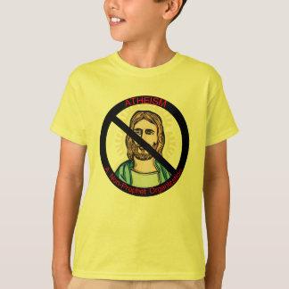 T-shirt D'athéisme prophète non