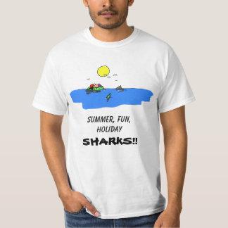 T-shirt d'attaque de requin