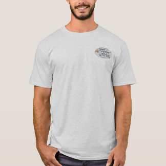 T-shirt d'avertissement de bande de petit métier