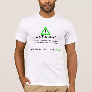 T-shirt d'avertissement de la maladie de Lyme