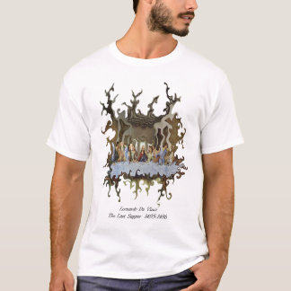 T-shirt DaVinci tordu
