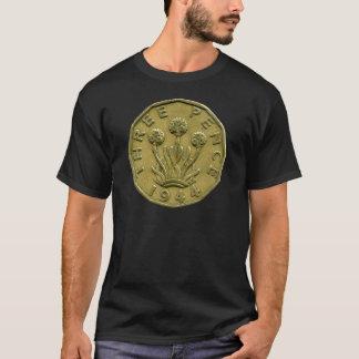 T-shirt de 1944 penny des Anglais trois