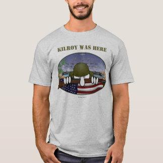 T-shirt de 2ÈME GUERRE MONDIALE Kilroy
