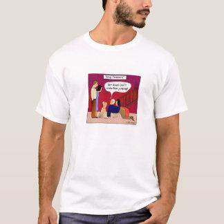T-shirt de bande dessinée d'entraîneurs de chien