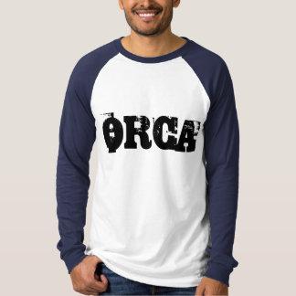 T-shirt de base-ball d'orque