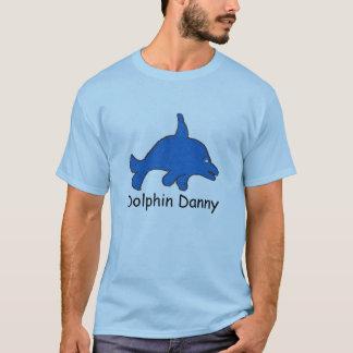 T-shirt de base de Danny de dauphin