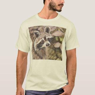 T-shirt de base de raton laveur d'enfants