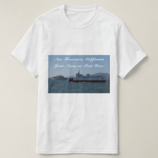 T-shirt de bateau de Zalophus de San Francisco