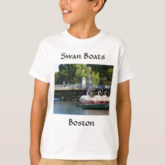 T-shirt de bateaux de cygne de Boston