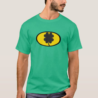 T-shirt de batte du jour de St Patrick