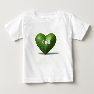 T-shirt de bébé de conception d'amant de golf
